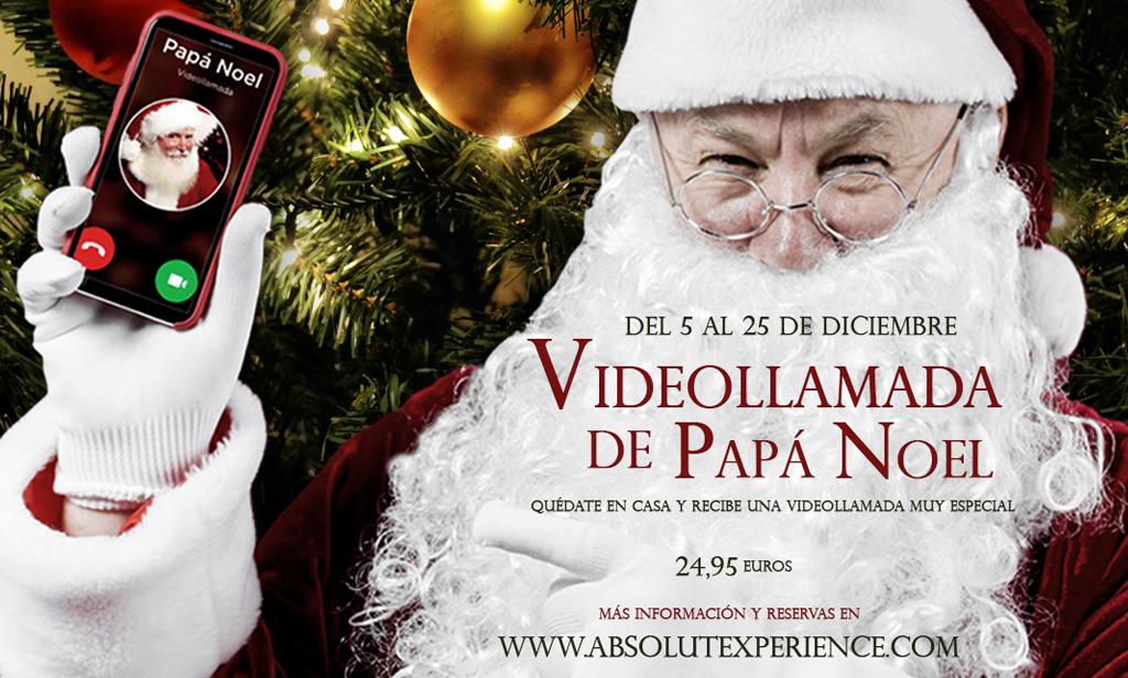 Videollamada Papa Noel